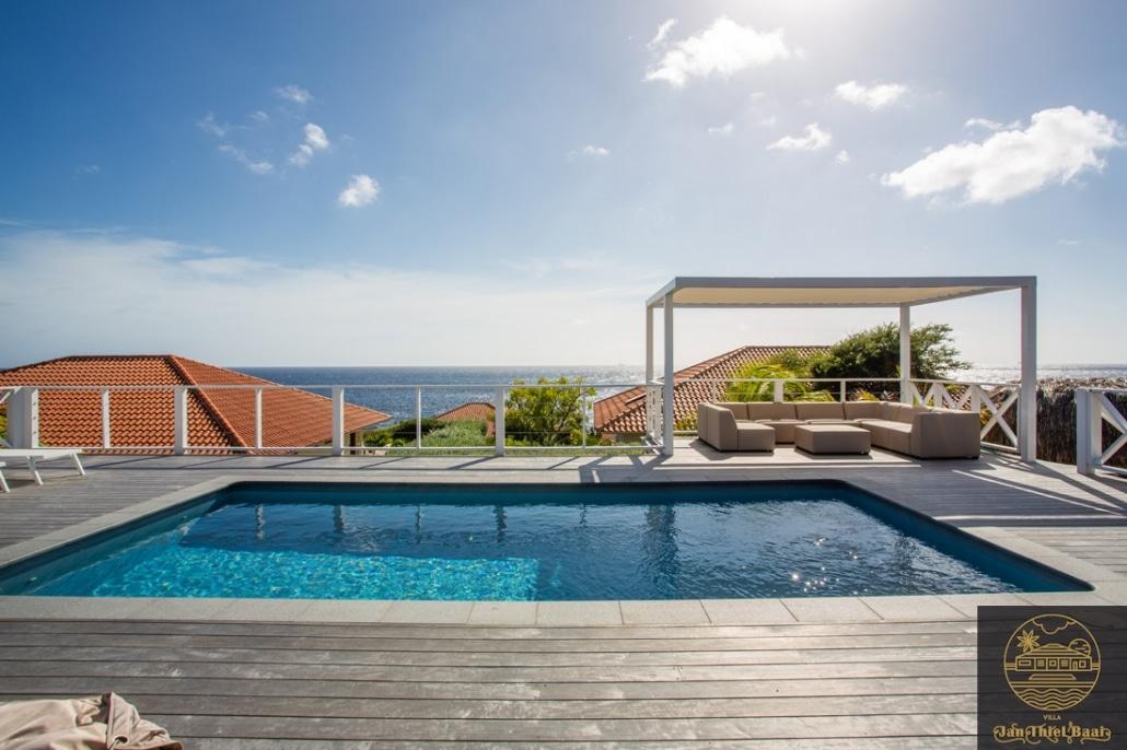 Vakantievilla Curacao huren? Zeezicht vanuit je villa in Curacao